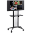 Safco Impromptu®  Flat Panel TV Cart SFC8926BL