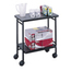 Safco Folding Office/Beverage Cart SFC8965BL