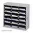 Safco E-Z Stor® Steel Project Organizer, 18 Compartments SFC9264GR