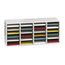 Safco Adjustable Compartment Wood Literature Organizers SFC9423GR