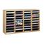 Safco Adjustable Compartment Wood Literature Organizers SFC9424MO