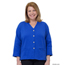 Silverts Women's Open Back Adaptive Fleece Cardigan With Pockets SIL232500304