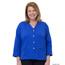 Silverts Women's Open Back Adaptive Fleece Cardigan With Pockets SIL232500304