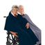 Silverts Wheelchair Poncho Lined Cape SIL270000101