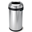 Simplehuman 60L (15 Gallon) Bullet Open Can Waste Receptacle SIMCW1407