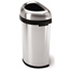 Simplehuman 60L (15 Gallon) Semi-Round Open Can Waste Receptacle SIMCW1468