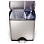 Simplehuman 46L (12 Gallon) Rectangular Recycler Receptacle SIMCW1830
