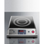 Summit Appliance Portable Single Zone Induction Cooktop with Black Ceran™ Smooth-Top Finish SMASINCFS1