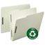 Smead Smead® 100% Recycled Pressboard Fastener Folders SMD15004