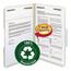 Smead Smead® 100% Recycled Pressboard Fastener Folders SMD20003