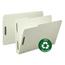 Smead Smead® 100% Recycled Pressboard Fastener Folders SMD20004
