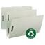 Smead Smead® 100% Recycled Pressboard Fastener Folders SMD20005