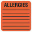 Tabbies Tabbies® Allergy Warning Labels TAB40560
