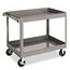Tennsco Tennsco Two-Shelf Metal Cart TNNSC2436