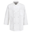 Chef Designs Men's 3/4 Sleeve Chef Coat UNF0402WH-RG-L