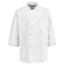 Chef Designs Men's 8 Pearl Button Chef Coat UNF0403WH-RG-L