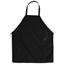 Chef Designs Unisex Standard Bib Apron UNF2500BK-27-31