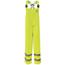 Bulwark Men's Hi-Vis Flame-Resistant Rain Bib Overall HRC2 UNFBXN4YE-RG-3XL