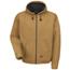 Red Kap Men's Blended Duck Zip-Front Hooded Jacket UNFJD20BD-RG-4XL