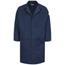 Bulwark Men's EXCEL FR® ComforTouch® Concealed Snap-Front Lab Coat - 6 oz. UNFKLL6NV-RG-XL