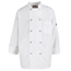 Chef Designs Men's Vented Back Chef Coat UNFKV30WH-RG-S