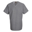 Chef Designs Men's Checked V-Neck Chef Shirt UNFSP08WB-SS-S