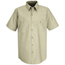 Red Kap Men's Industrial Work Shirt UNFSP24LT-SS-3XL