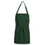 Chef Designs Unisex Premium Short Bib Apron UNFTT32HG-28-24