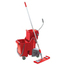 Unger Side-Press Restroom Mop Bucket FloorPack UNGSMFPR