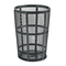 Rubbermaid Commercial Steel Street Basket Waste Receptacle RCPSBR52BK