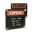 U.S. Stamp & Sign Headline® Sign Double-Sided Open/Closed Sign USS3727