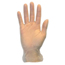 Safety Zone Lightly Powdered Vinyl Gloves - Small SFZGVDR-SM-1C